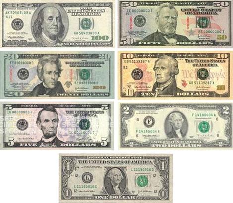 Bankovky v USA