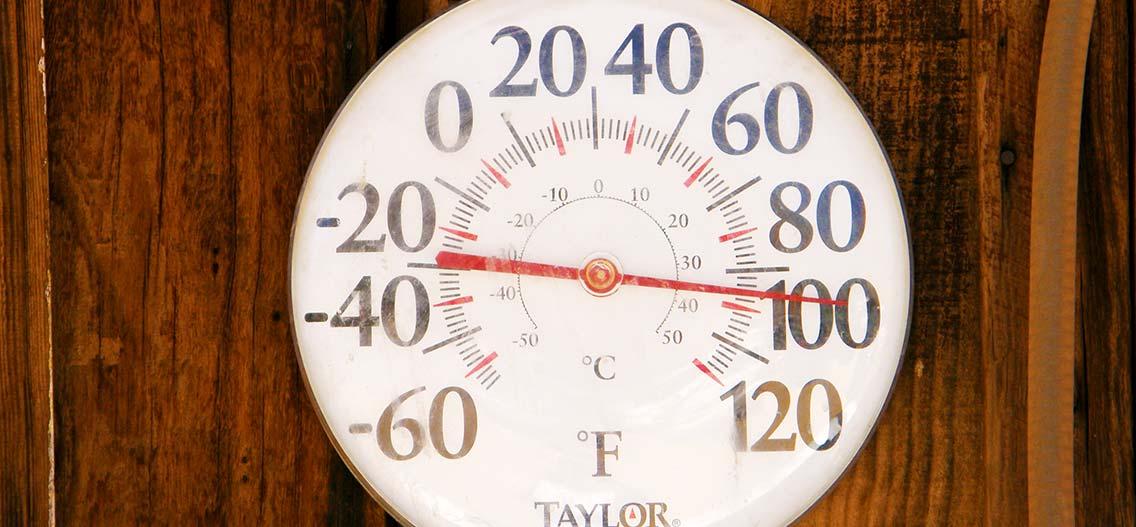 Převody teplot Fahrenheit a Celsius