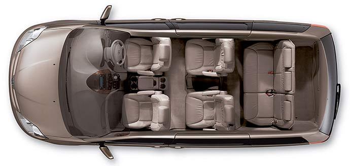Půjčení auta Minivan Dodge Grand Caravan