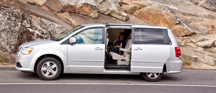 minivan Dodge USA