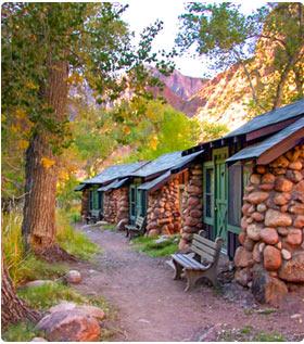 Ubytování Grand Canyon