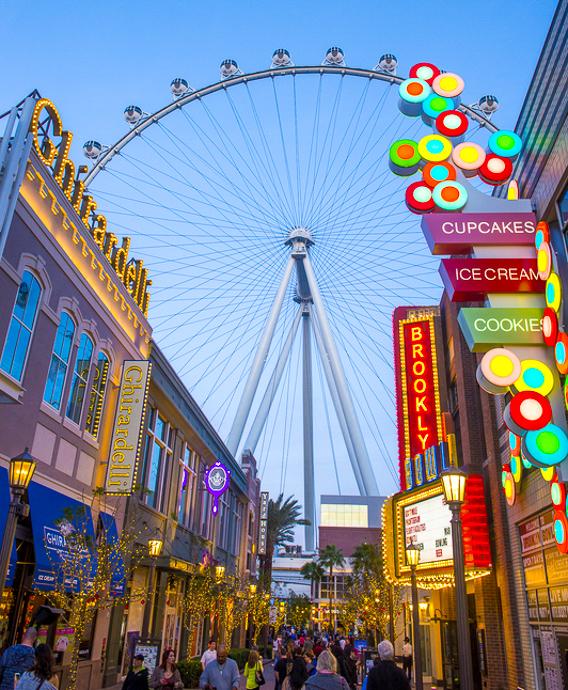 Vyhlídkové kolo High Roller Las Vegas