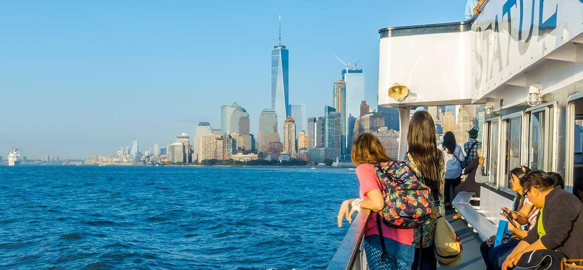 Okružní plavby lodí v New Yorku