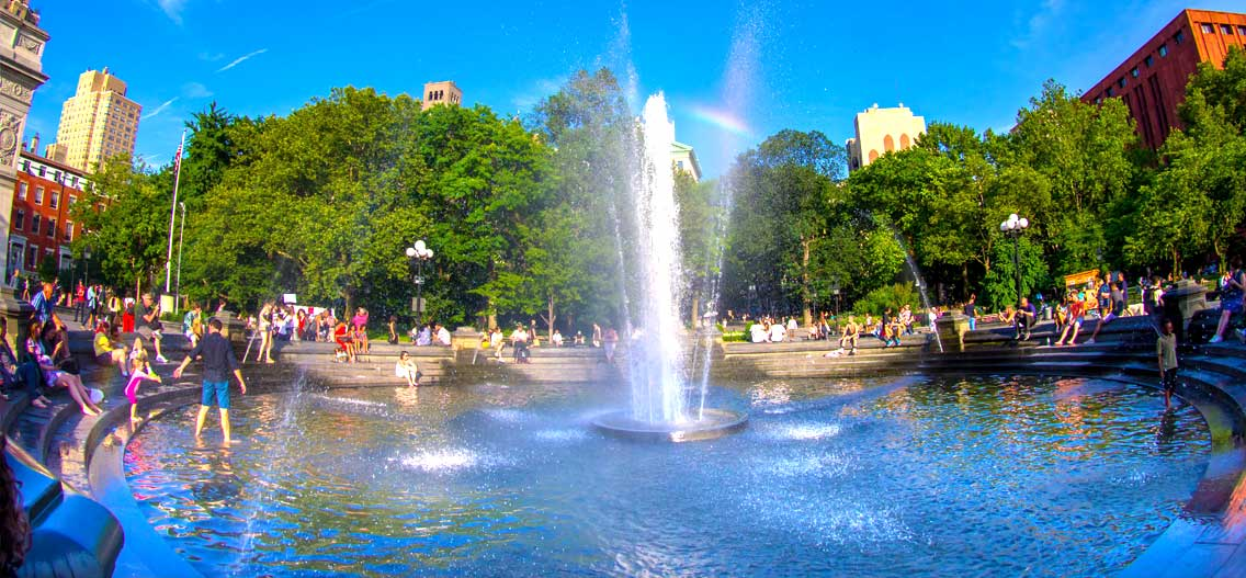 Počasí v New Yorku v červenci