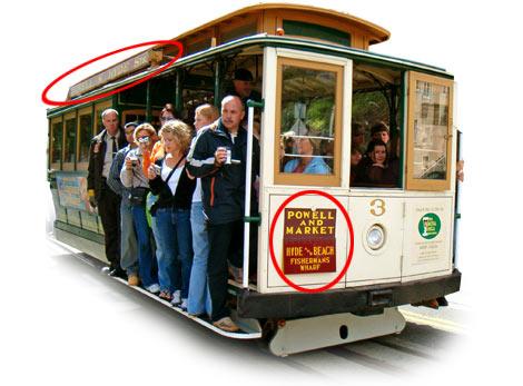 Tramvaj v San Francisko