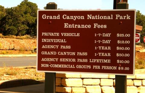 Vstupné do národních parků USA