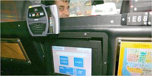 Jak platit v taxi v New Yorku