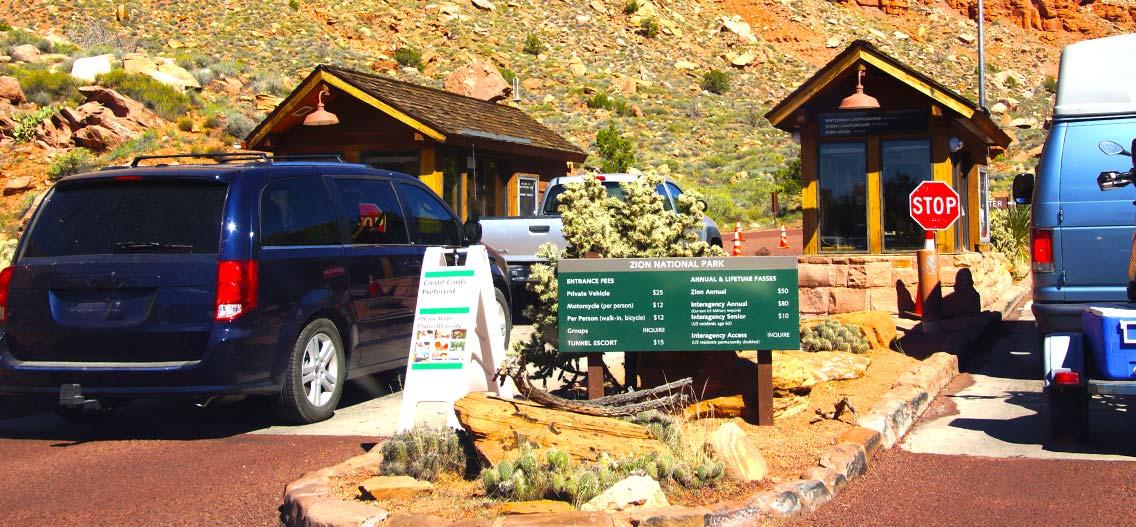 Vstupné do národní parků USA