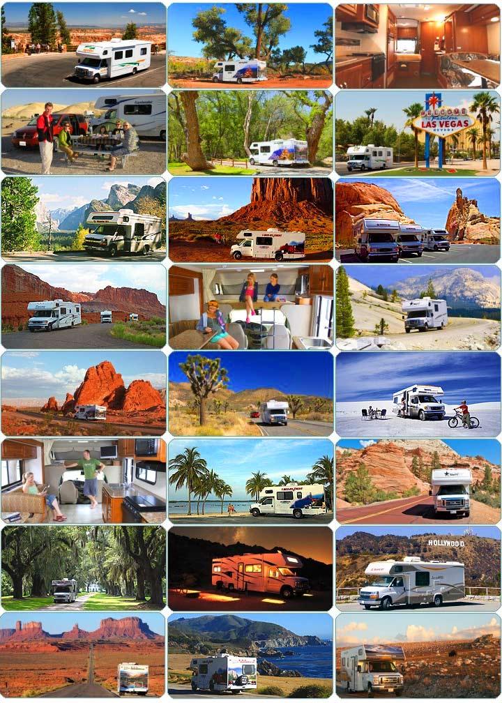 Cestování po USA karavanem