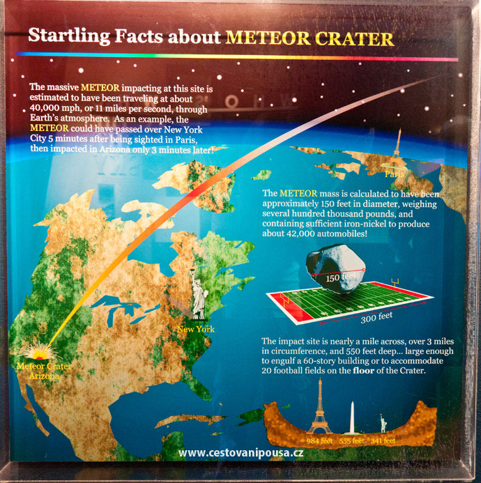 Meteor Crater v Arizoně