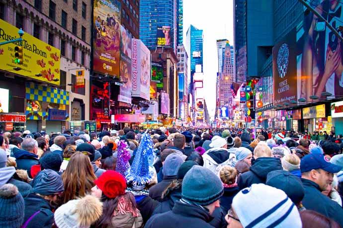 Time Square v New Yorku
