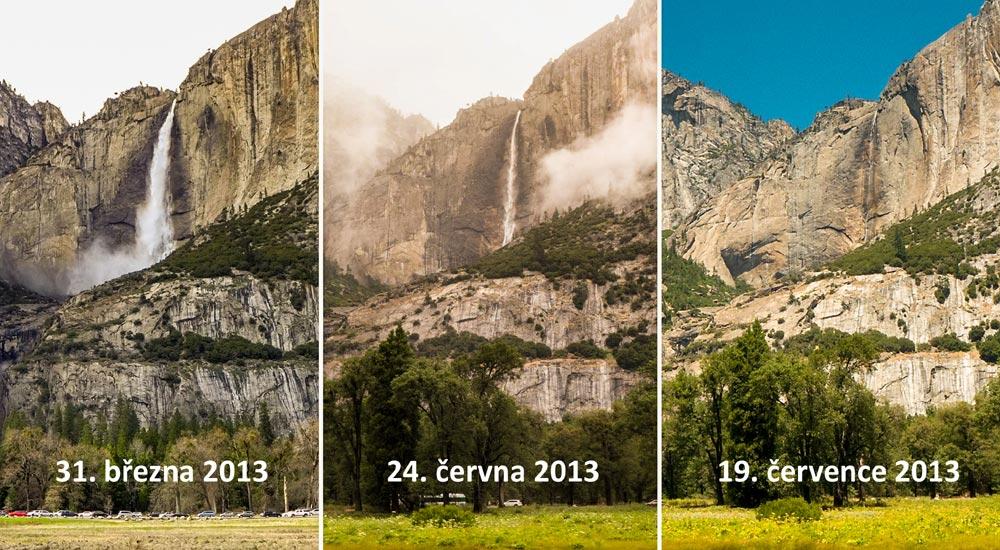 Horní Yosemite Fall