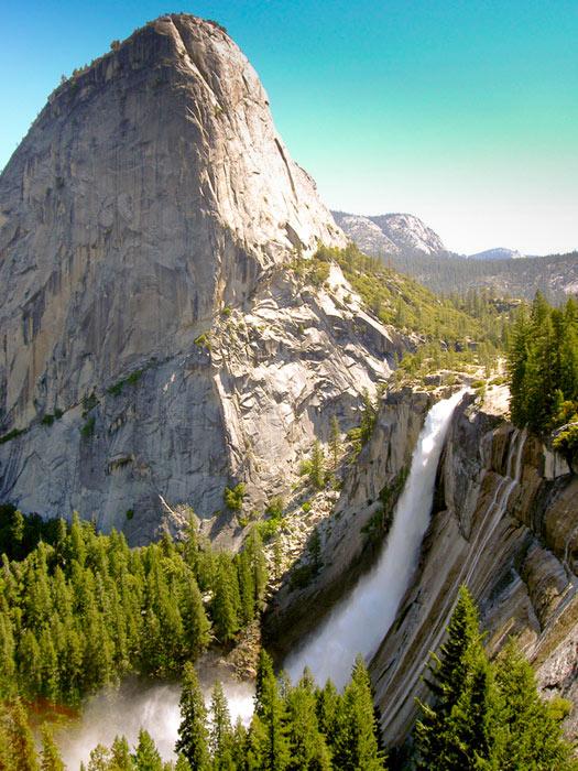 Nevada vodopád Yosemite