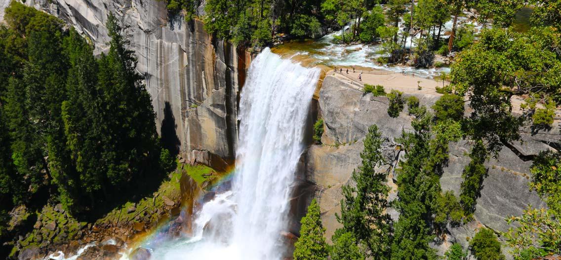 Yosemite Vernal vodopád