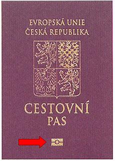 Biometrický cestovní pas do USA