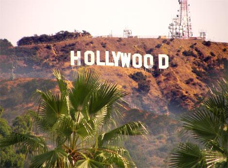 Los Angeles Nápis Hollywood