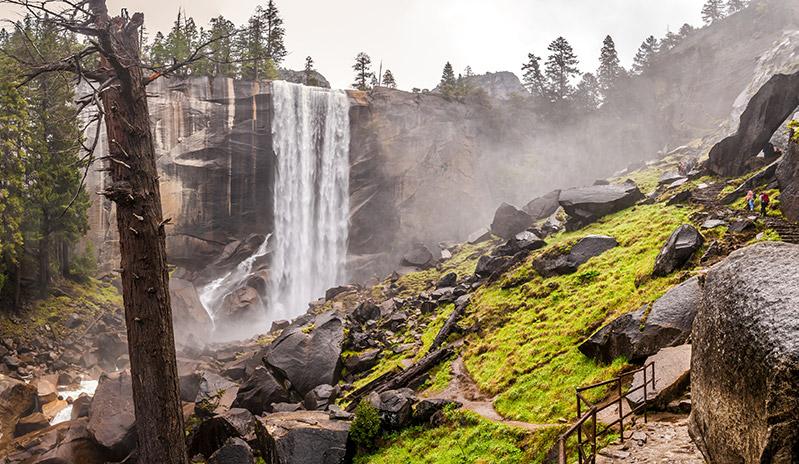 Panoramatická Stezka Yosemite