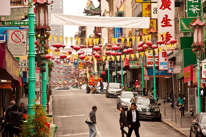 Chinetown v San Francisku