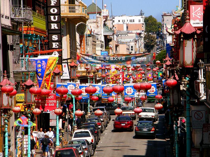 San Francisco Chinetown