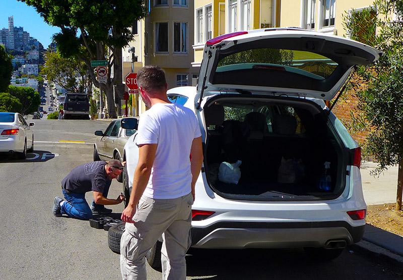Nehoda v San Francisku