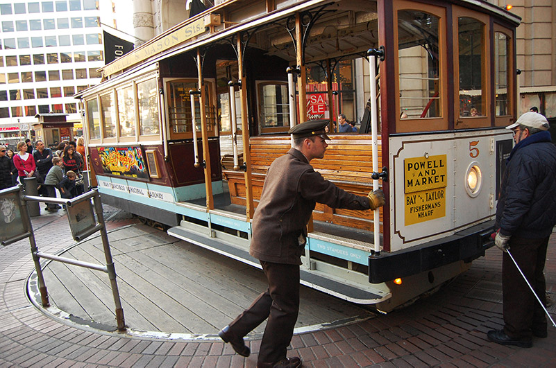 Tramvaj v San Franciscku