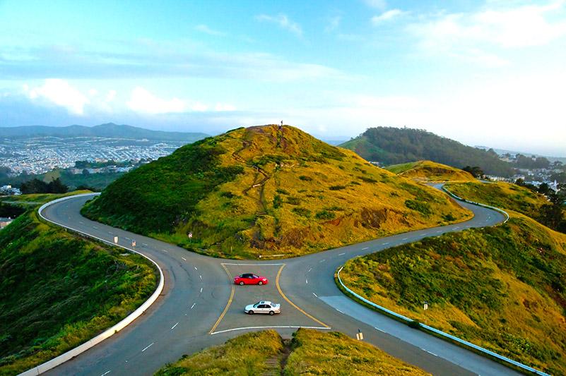 San Francisco - Twin Peaks Hill