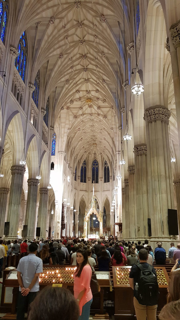 Katedrála St. Patrick´s Cathedral