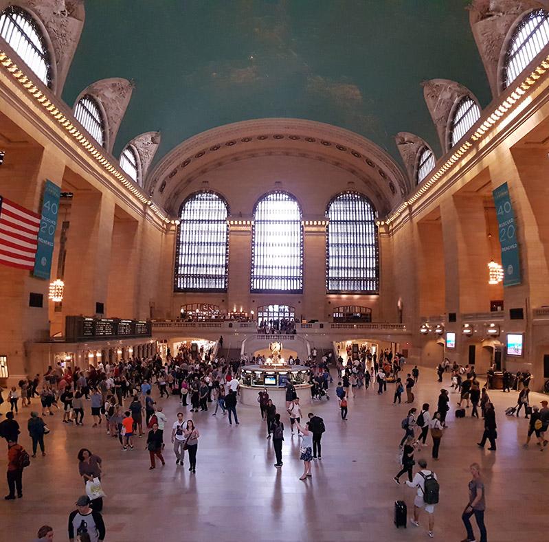 Grand Central Terminal - vlakové nádraží