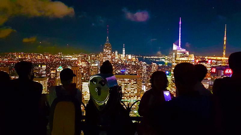 Výhled z Top Rock
