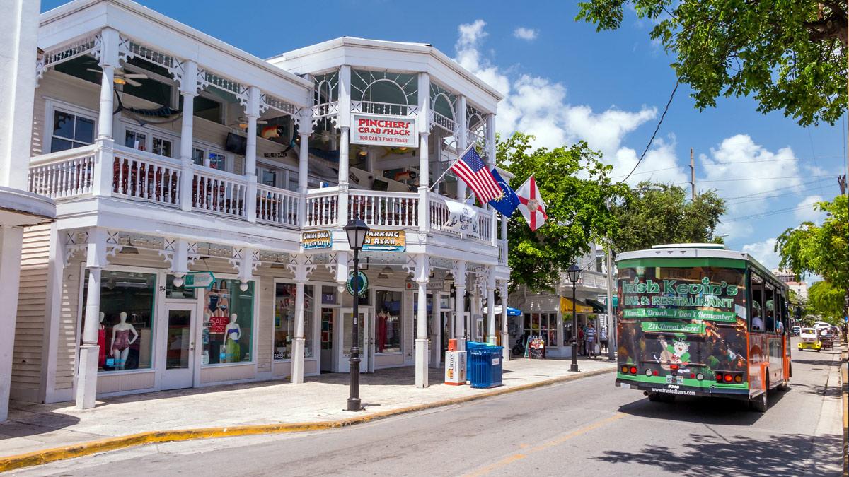 Key West na Floridě