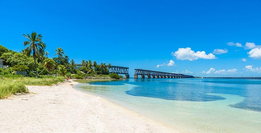 Bahia Honda State Park - zastavte se cestou na Key West