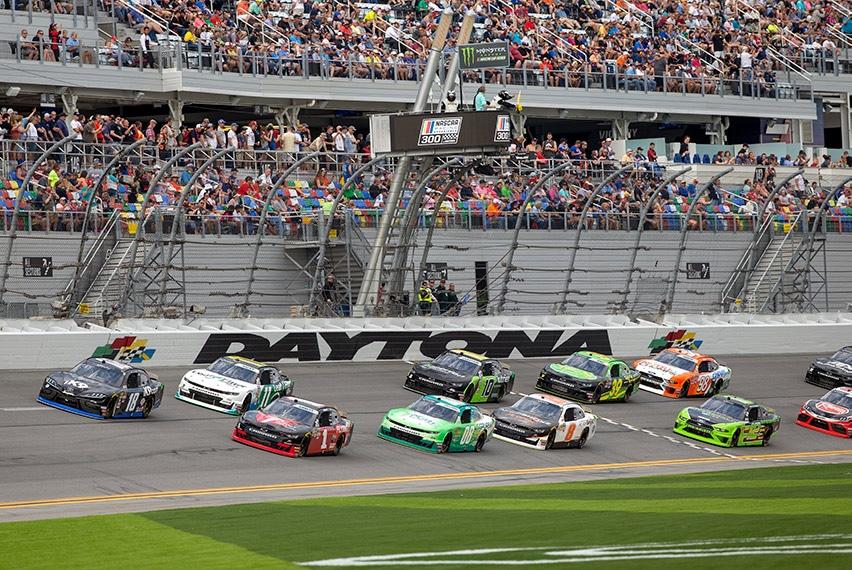 Daytona International Speedway in Daytona Beach