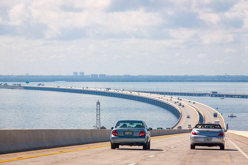 Cesta autem na Key West