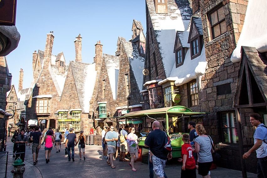 Harry Potter - Universal Studios na Floridě