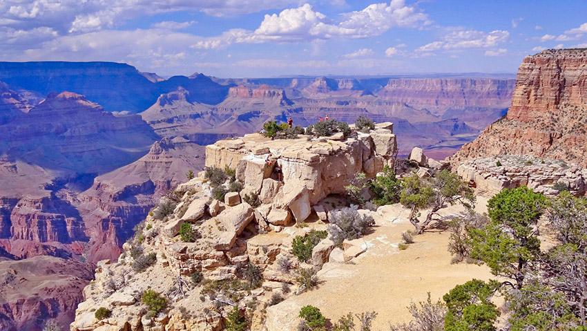 Pohled do Grand Canyonu
