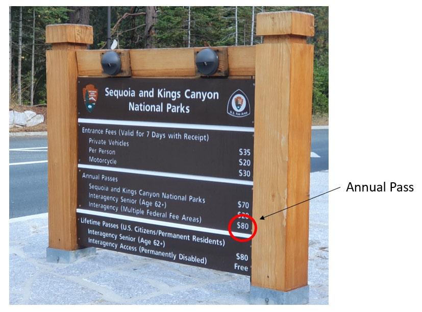 Kolik stojí vstup do národních parků USA