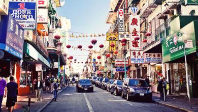 Chinatown v San Fraciscu
