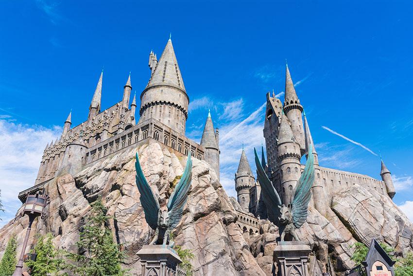 Harry Potter v Universal Studios Hollywood