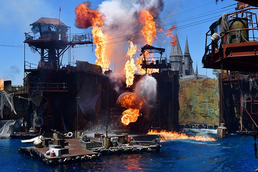 Vodní svět v Universal Studios