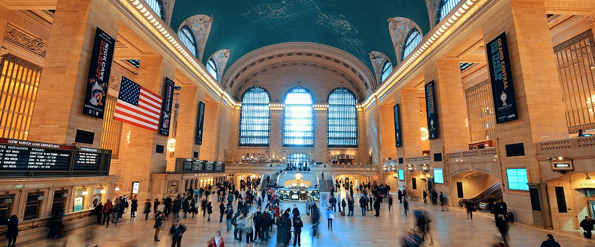 Grand Central Terminal v New Yorku