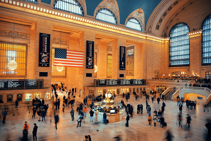Hlavní vlakové nádraží v New Yorku