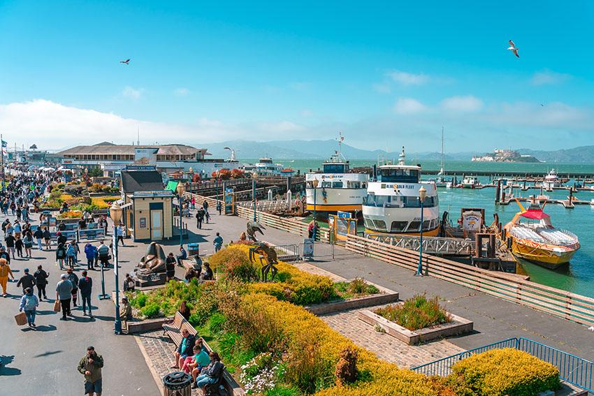 Přístaviště Pier 39