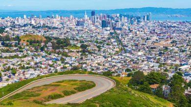 Twin Peaks výhled na San Francisco